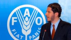 El Embajador Mario Arvelo se dirige a la 36ª Conferencia General de la FAO • Ambassador Mario Arvelo addresses the 36th FAO General Conference
