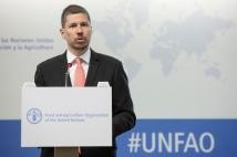 El Embajador Mario Arvelo se dirige a la 40ª Conferencia General de la FAO • Ambassador Mario Arvelo addresses the 40th FAO General Conference